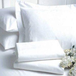 hotel white sheet