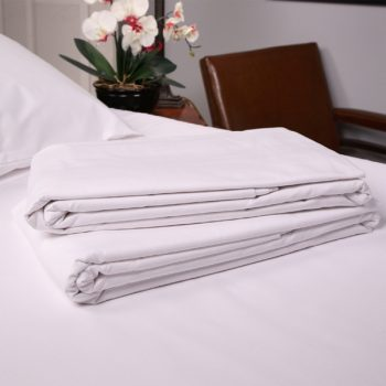 hotel white sheets